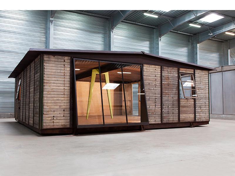 Jean prouv 8x8 demountable house 1945 galerie patrick seguin - Jean prouve architecture ...