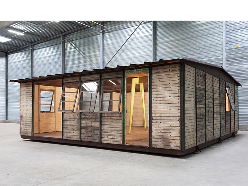 Jean prouv 8x8 demountable house 1945 galerie for Modern house 8x8