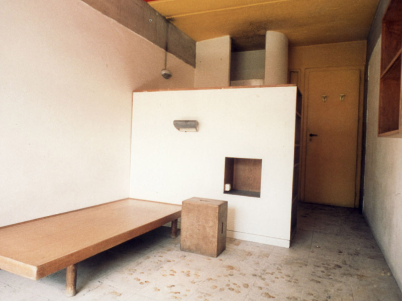 le corbusier charlotte perriand dormitory room 1956. Black Bedroom Furniture Sets. Home Design Ideas