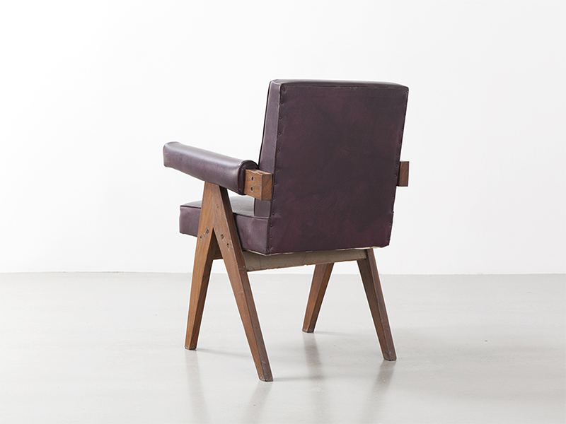 pierre_jeanneret_Office_chair_brown_3