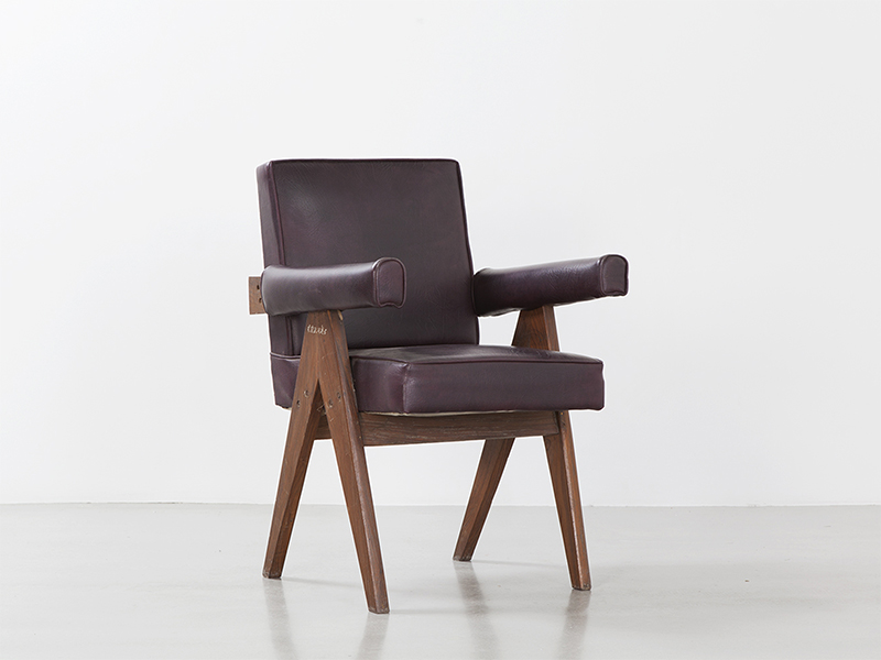 pierre_jeanneret_Office_chair_brown_2