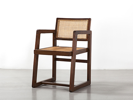 pierre_jeanneret_wicker_armchair