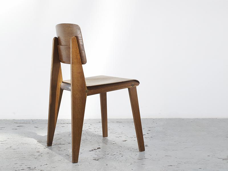 Préférence Jean Prouvé - Demountable chair - Galerie Patrick Seguin UC09