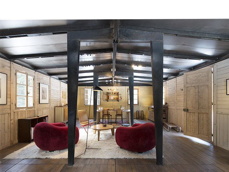 jean prouv 6x9 demountable house 1944 galerie patrick seguin. Black Bedroom Furniture Sets. Home Design Ideas