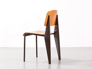 jean-prouve-brown-metropole-chair
