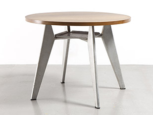 jean-prouve-round-cafeteria-table