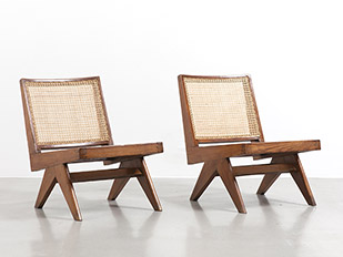 pierre-jeanneret-armless-easy-chairs