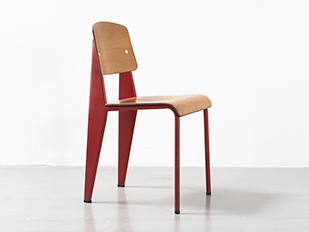 jean-prouve-red-metropole-chair