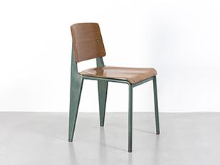 Jean prouv furniture galerie patrick seguin - Chaise jean prouve prix ...