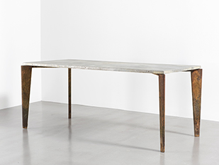 Jean prouv furniture galerie patrick seguin - Table basse jean prouve ...