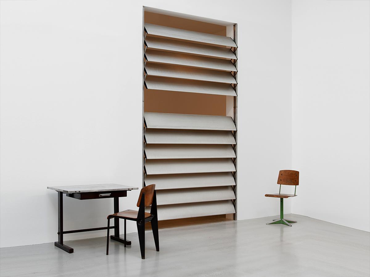 JEAN PROUVÉ, SUN SHUTTER, 1962-65 - Patrick Seguin Gallery Paris