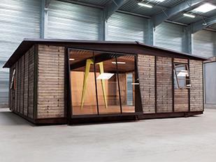 Jean prouv architecture maisons d montables galerie - Maison demontable jean prouve ...