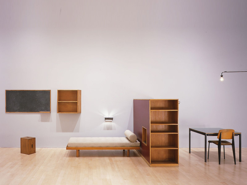 le corbusier charlotte perriand armoire 1956 59. Black Bedroom Furniture Sets. Home Design Ideas