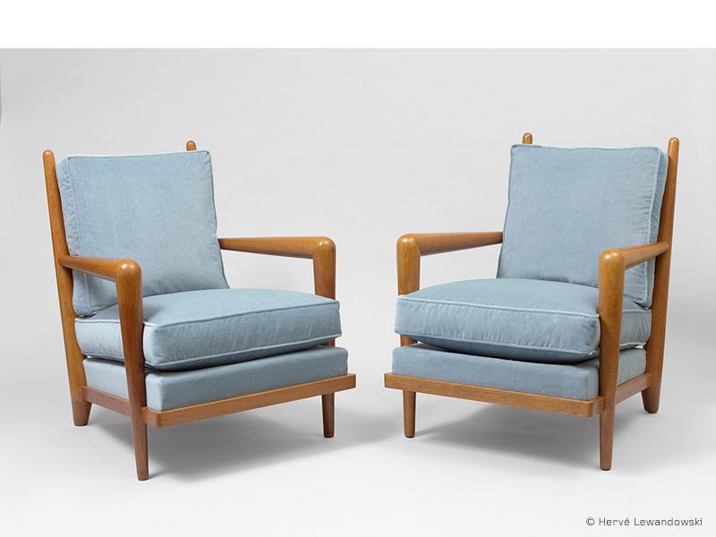 jean royere fauteuil ondulation 1 galerie patrick seguin version fr. Black Bedroom Furniture Sets. Home Design Ideas