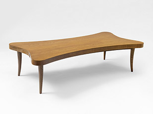 jean roy re table basse tr fle ca 1955 galerie patrick seguin. Black Bedroom Furniture Sets. Home Design Ideas