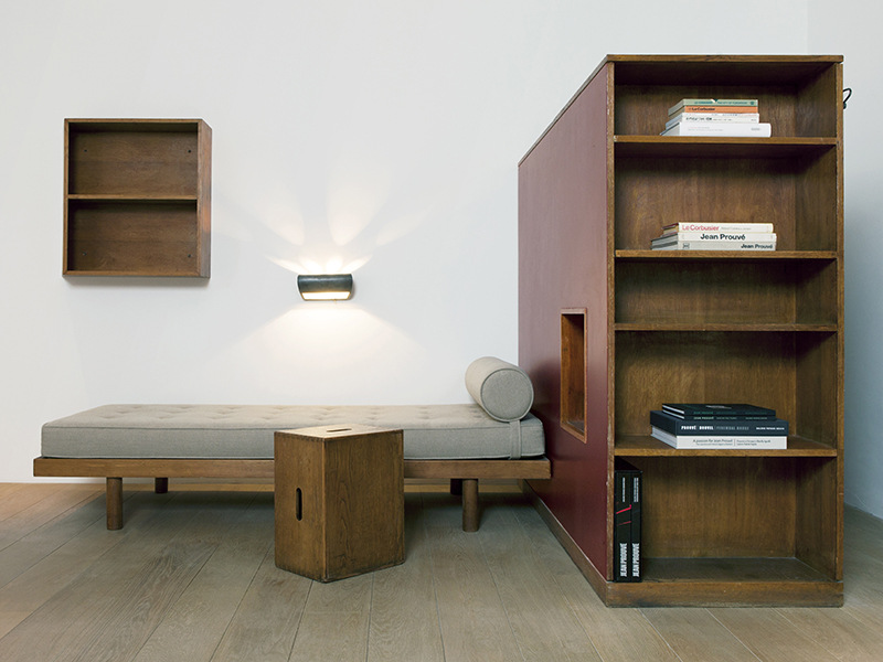 highlight design miami le corbusier charlotte perriand c i u p 1956 galerie patrick seguin. Black Bedroom Furniture Sets. Home Design Ideas