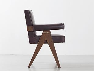 fauteuil-office-marron