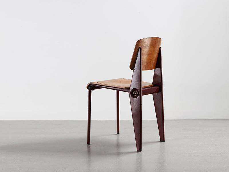 jean prouvé - chaise cafétéria n°300 démontable - galerie patrick ... - Chaise Jean Prouve Prix