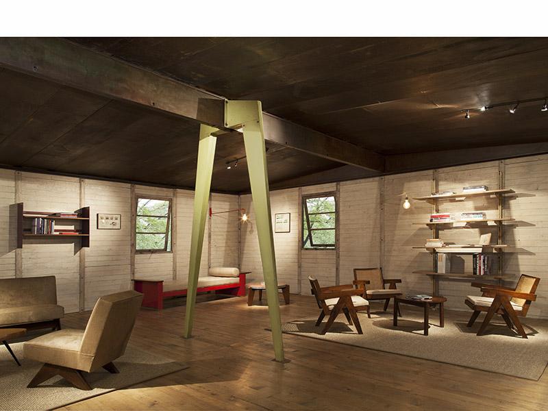 jean prouv maison d montable 8x8 1945 galerie patrick seguin. Black Bedroom Furniture Sets. Home Design Ideas