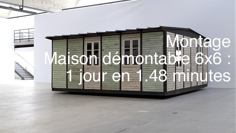Jean prouv maison d montable 6x6 m 1944 vid os - Maison demontable jean prouve ...