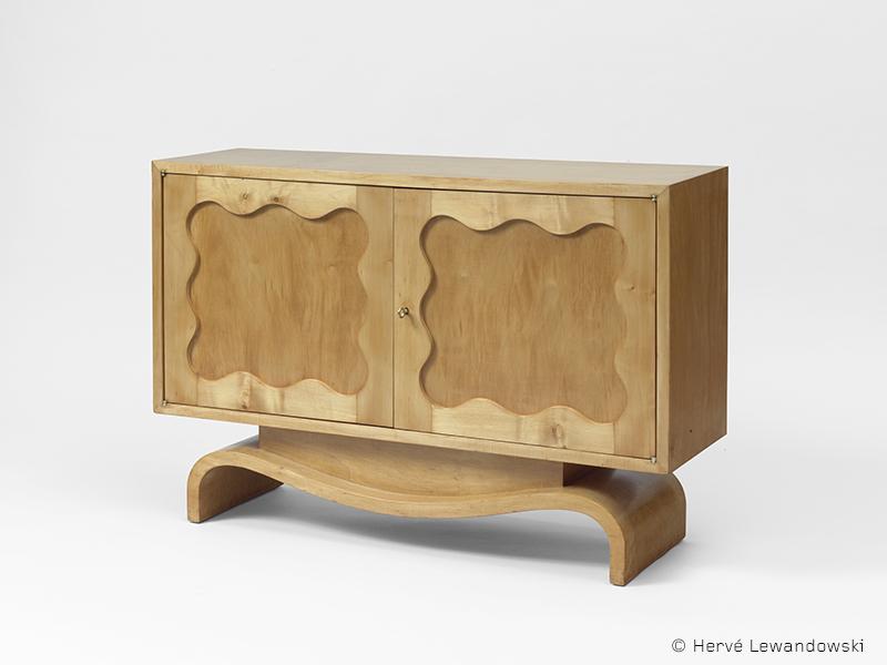 jean royere meuble ondulation1 galerie patrick seguin version fr. Black Bedroom Furniture Sets. Home Design Ideas