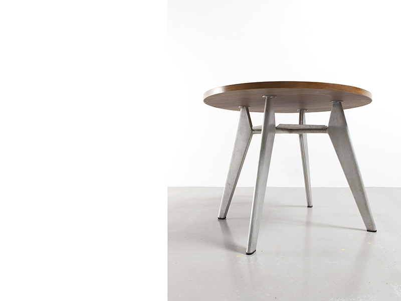 jean-prouve-table cafeteria-ronde2