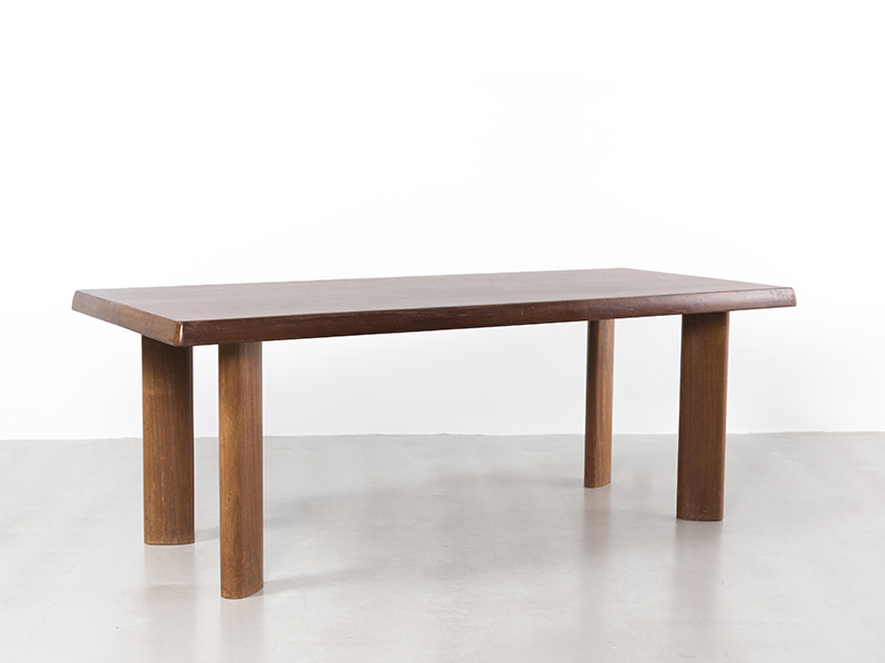 Charlotte perriand table ca 1960 galerie patrick seguin - Table charlotte perriand ...