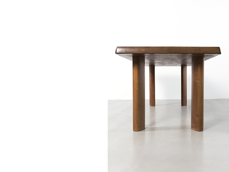 Charlotte perriand table ca 1960 galerie patrick seguin for Table salle a manger jean nouvel