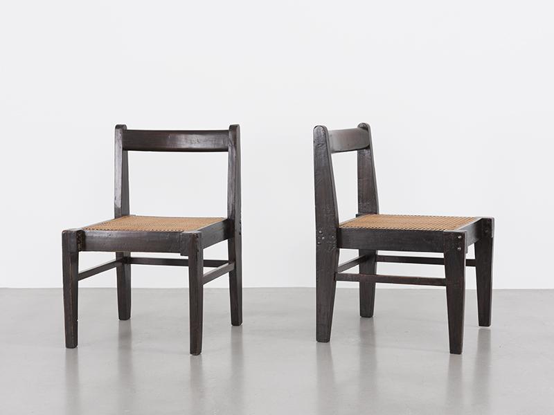 pierre jeanneret chaise d montable ca 1955 56 galerie patrick seguin. Black Bedroom Furniture Sets. Home Design Ideas