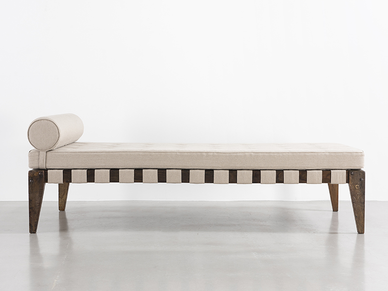 pierre jeanneret lit d montable galerie patrick seguin. Black Bedroom Furniture Sets. Home Design Ideas