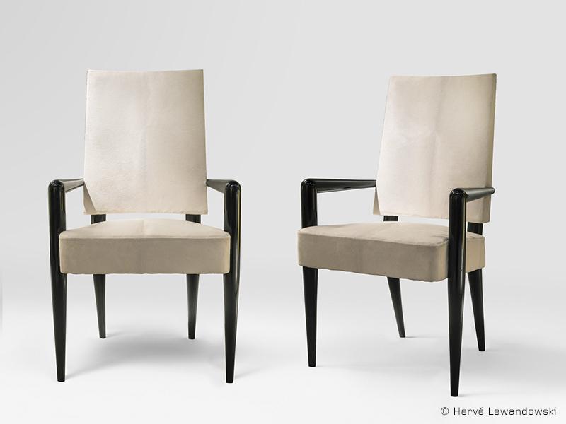 jean roy re paire de fauteuils bridge galerie patrick seguin. Black Bedroom Furniture Sets. Home Design Ideas