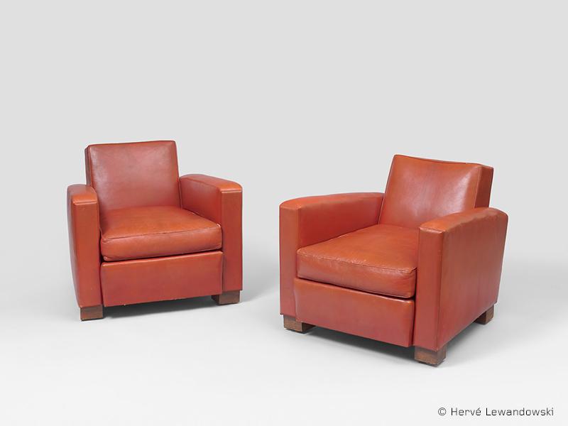 jean roy re paire de fauteuils corbeau galerie patrick seguin. Black Bedroom Furniture Sets. Home Design Ideas