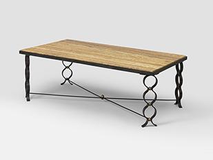 jean roy re table basse ruban ca 1950 galerie patrick seguin. Black Bedroom Furniture Sets. Home Design Ideas